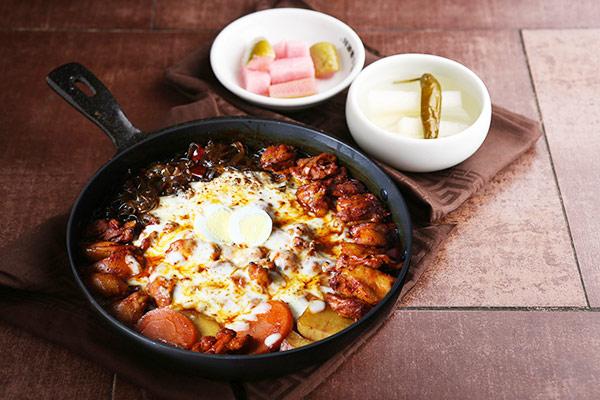 韩国新安东炖鸡20