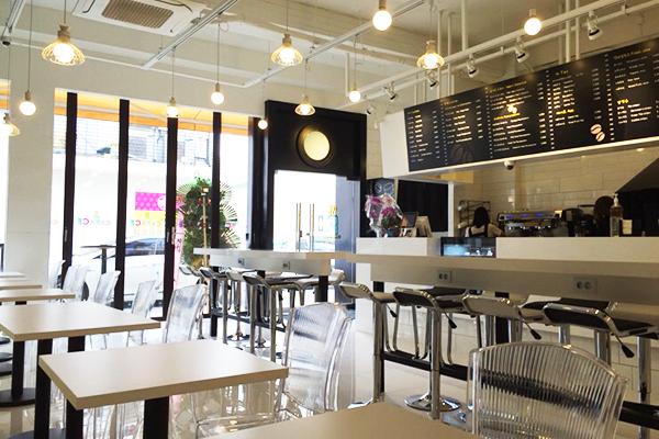 韩国弘大可以打印照片的caFACE咖啡11