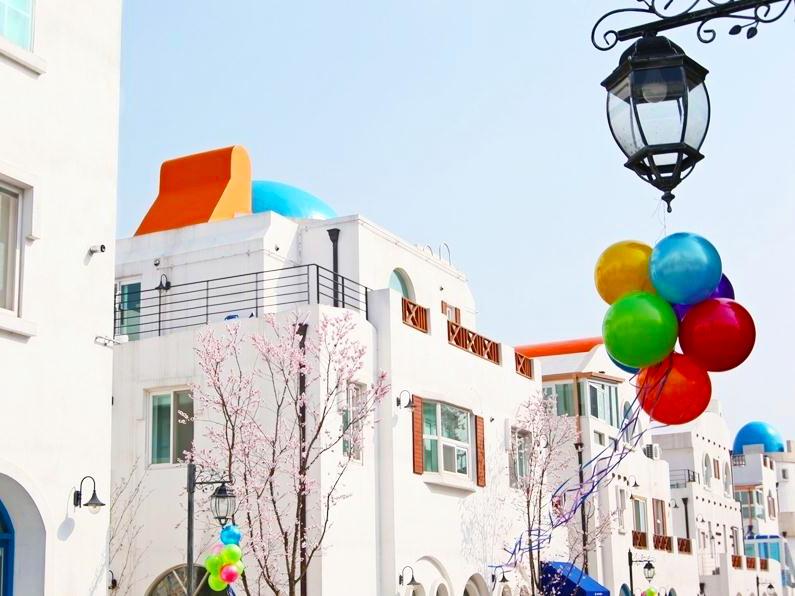韩国忠清南道牙山地中海小镇20