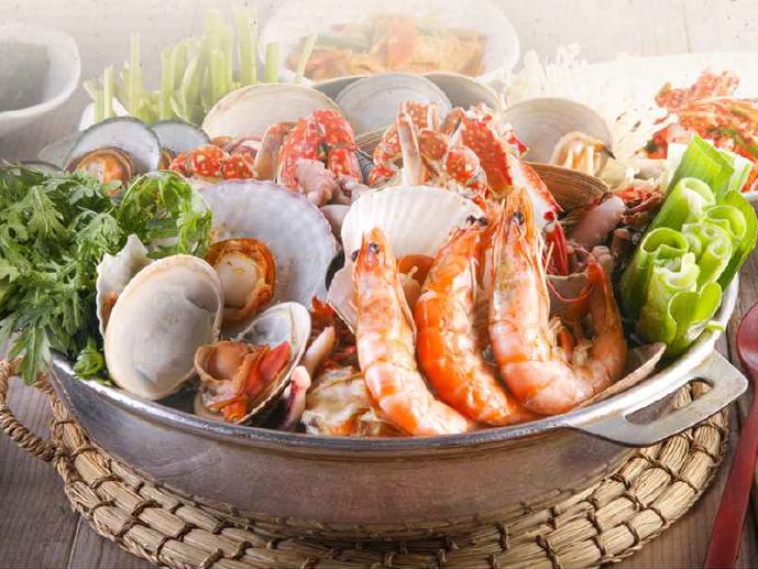 明洞咸草酱蟹韩食店9