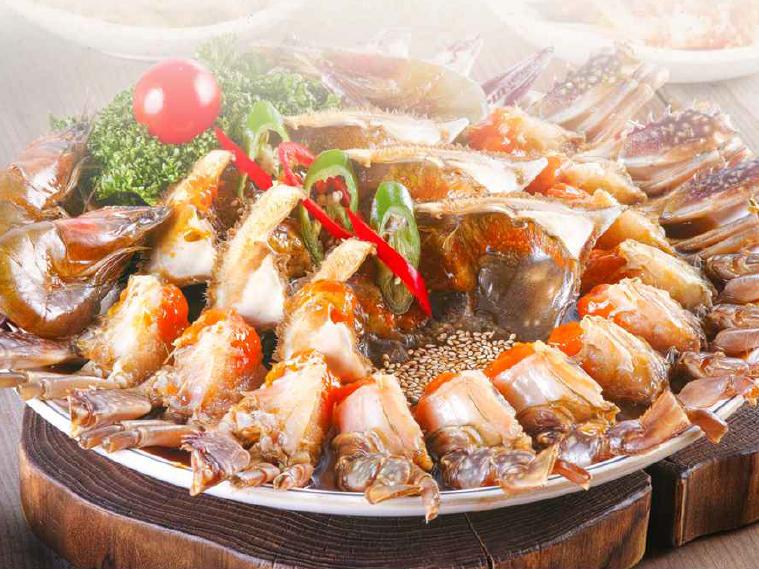 明洞咸草酱蟹韩食店1