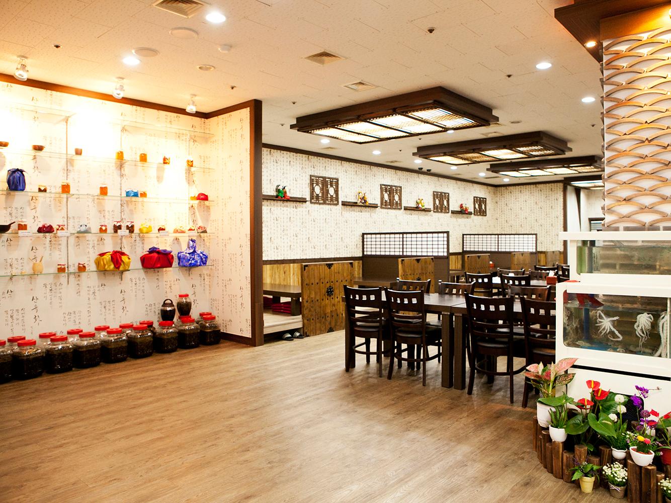 明洞咸草酱蟹韩食店4