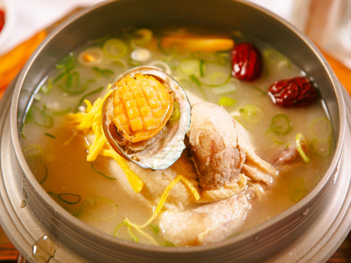 明洞亭韩式料理店图片