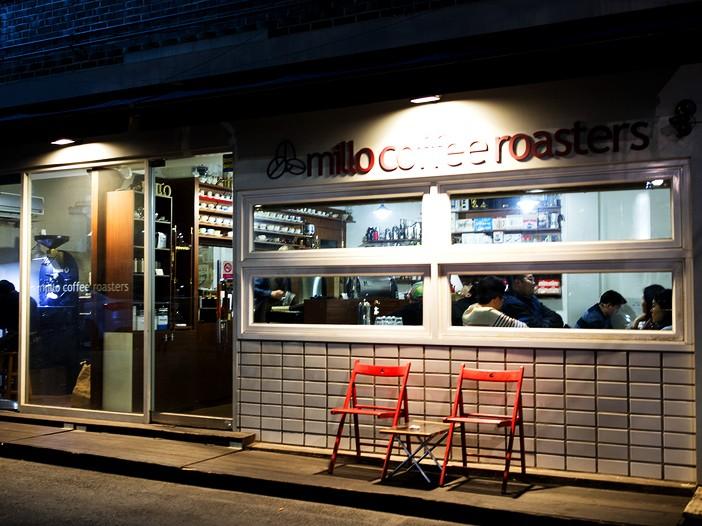 弘大MILO  COFFEE  ROASTERS咖啡_韩国美食_韩游网