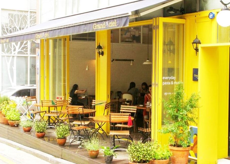 韩国最具人气意大利餐厅Grandciel_韩国美食_韩游网