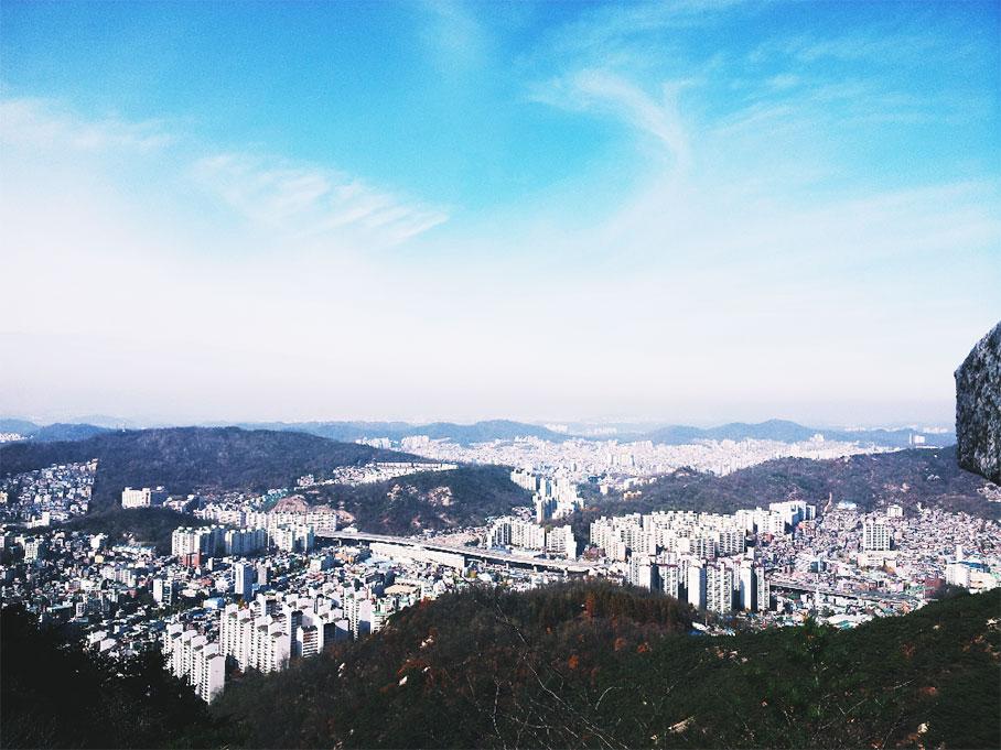 首尔仁王山_韩国景点_韩游网