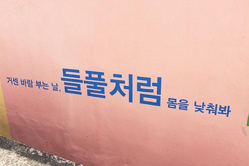 """光州""""壁画村""""-青春发散村_韩国景点_韩游网"""