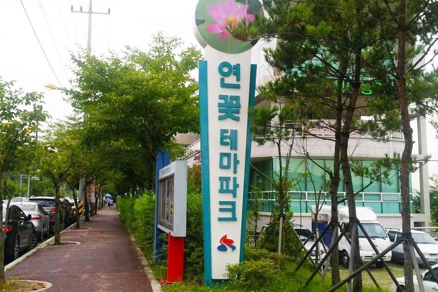 京畿道荷花主题公园_韩国景点_韩游网