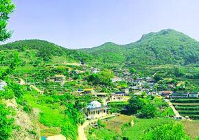 庆尚南道加川梯田村