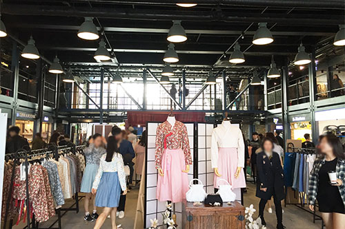 建大集装箱购物中心COMMON GROUND_韩国购物_韩游网