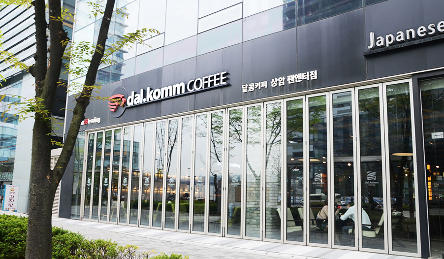 《太阳的后裔》拍摄地dal.komm COFFEE咖啡厅_韩国美食_韩游网