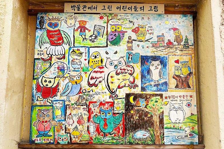 三清洞猫头鹰博物馆_韩国景点_韩游网