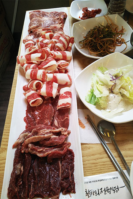"""""""一头牛""""——专为牛肉而生的烤肉店_韩国美食_韩游网"""