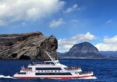 济州岛山房山爱的邮轮在线优惠预订-韩游网