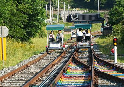 全州韩屋村铁路自行车_韩国铁路自行车门票在线预订-韩游网