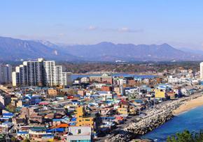 韩国江原道束草市