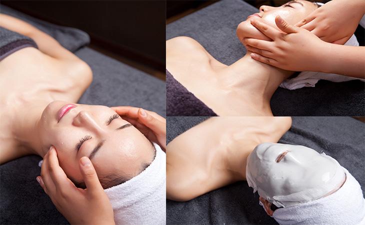 精油肩部使用步骤