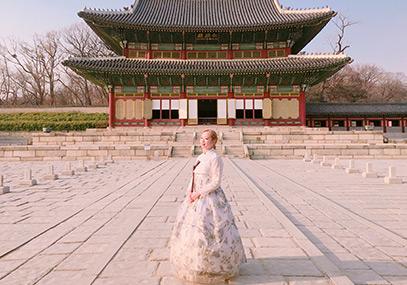 首尔昌庆宫Hanboknam韩服租赁_首尔韩服体验-韩游网