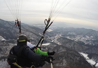 韩国京畿道龙仁Songgolmae 滑翔伞在线优惠预订-韩游网