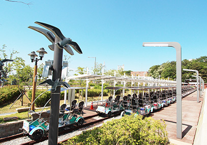 仁川永宗岛海边铁道自行车_韩国铁路自行车门票在线预订-韩游网