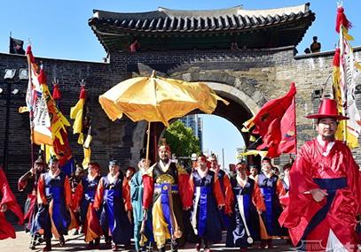韩国民俗村+水原华城文化节京畿道一日游在线预订优惠-韩游网
