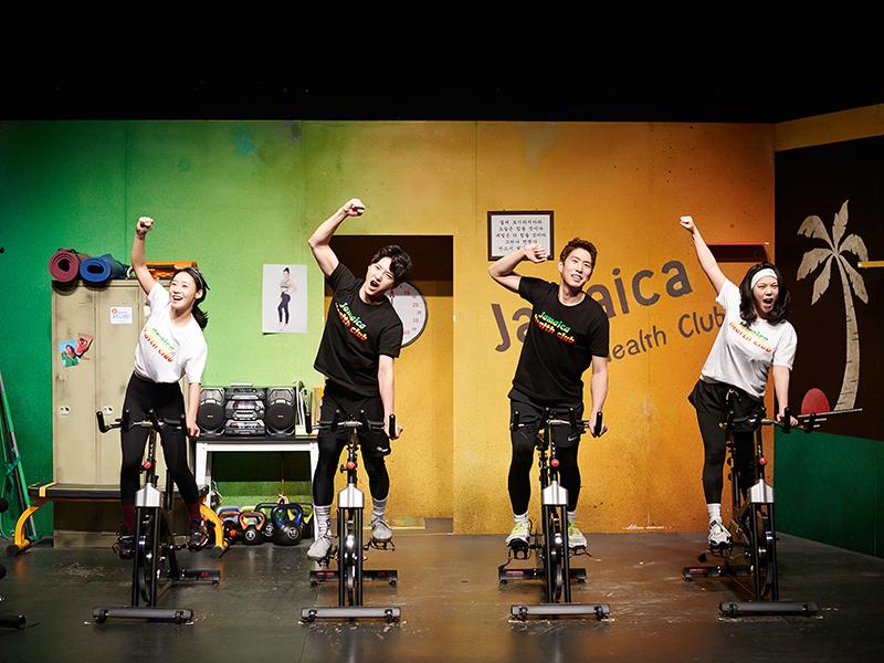 【首尔】搞笑话剧《牙买加健身房》_大学路公演_在线预订-韩游网