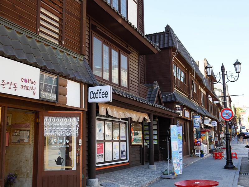 仁川松月洞童话街+月尾岛+永宗岛铁路自行车一日游