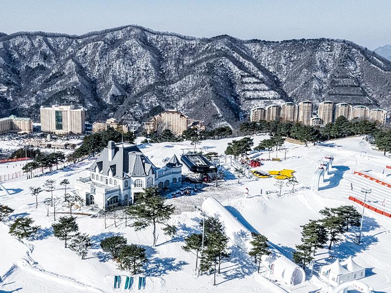 韩国滑雪旅游_韩国大明维瓦尔第滑雪场_韩国滑雪两天一夜攻略-韩游网_百玩地大明滑雪场