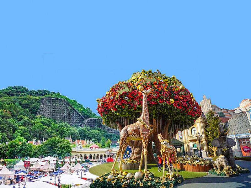 韓國愛寶樂園門票Q-Pass快速票在線預訂優惠_韓國龍仁愛寶樂園_韓遊網