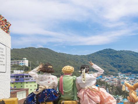 釜山甘川浪漫韩服体验_甘川文化村_在线预订-韩游网