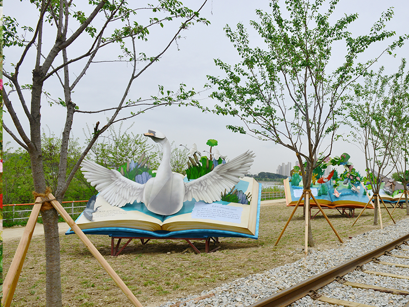 京畿道义王沿湖铁路公园_义王铁路自行车_在线预订-韩游网