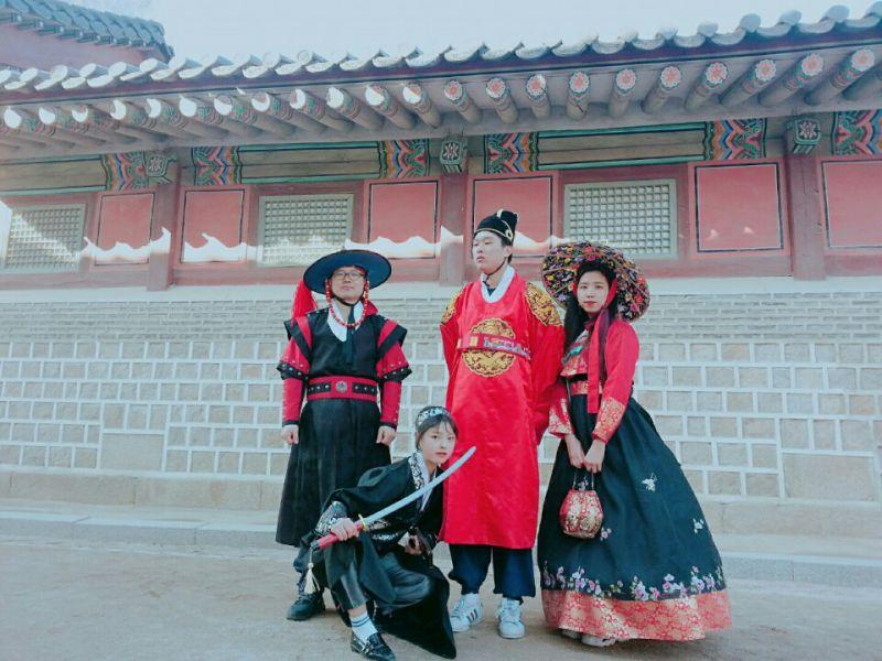 首尔景福宫 真(CHAM)韩服租赁_首尔韩服体验-韩游网