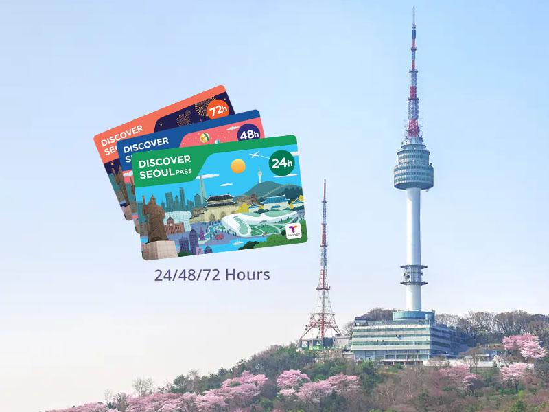 首尔转转卡_Discover Seoul Pass_首尔城市通票_乐天世界_韩国交通卡_在线预订-韩游网