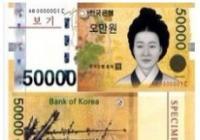 韓國貨幣及換錢