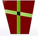 抽象圣诞树标志由三角,几何形状做成。-35042447.jpg