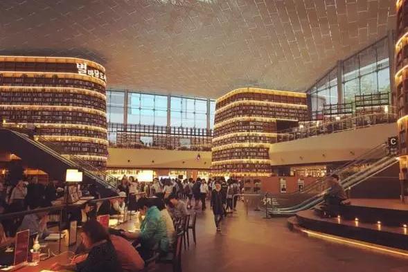 首尔自助行景点 星空图书馆