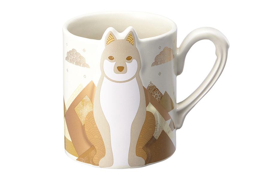 New year golden dog mug 355ml  15000.jpg
