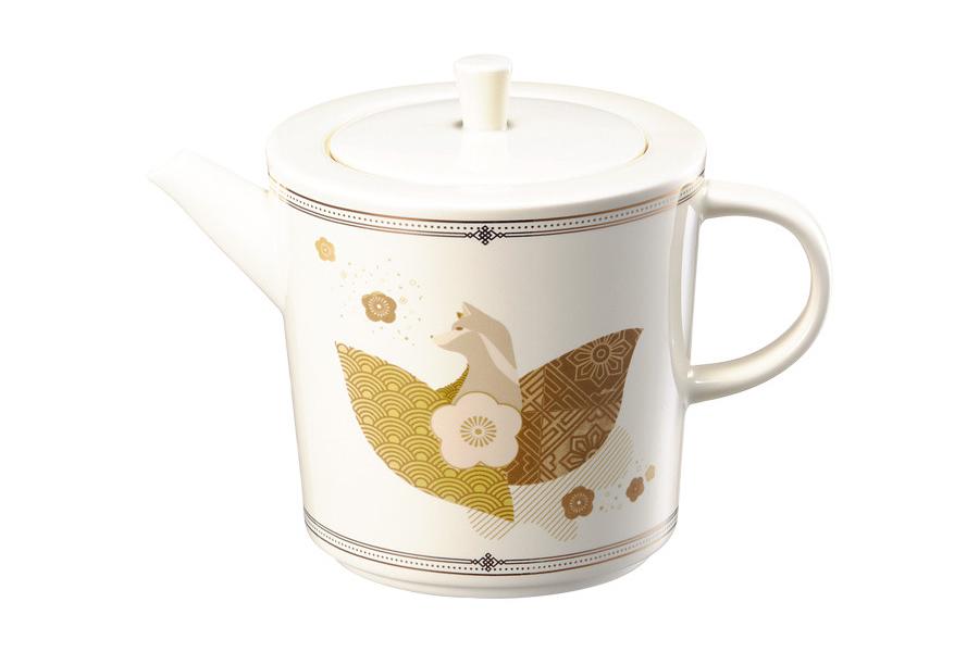 New year golden dog tea pot 591ml          19000.jpg