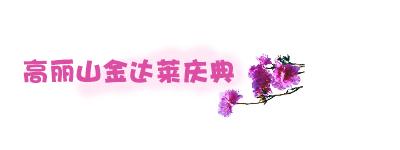 高丽山金达莱庆典.jpg