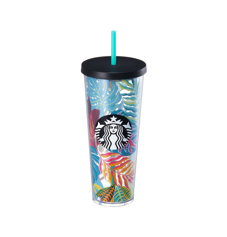 Tropical leaf coldcup 710ml21,000韩元.jpg