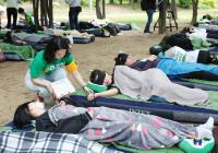 """躺贏!!!韓國不可思議的比賽""""2019睡覺大賽"""""""