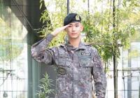 金秀贤军装帅照曝光,将于7月1日正式退伍