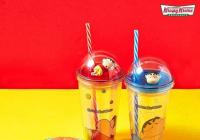 """韓國Krispy Kreme推出""""蠟筆小新限定隨行杯"""",5900韓幣即可加購!"""
