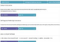 自华入境韩国人员须安装手机APP,每天进行自我诊断【附使用说明】