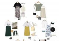 韓國妹子最愛的7月一週穿搭!原來今夏最流行的裙子是這樣的......