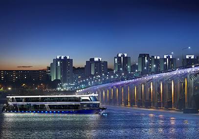 首尔汉江游览船E.LAND(不含自助餐)