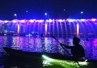 首尔汉江皮划艇