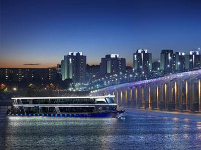 汉江游览船(可订自助餐)