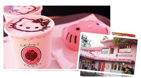 Hello Kitty 主题咖啡厅