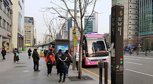首尔-爱宝乐园直通往返大巴(新道林/江南等区域)